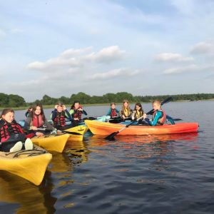 Kids Kayaking Fermanagh