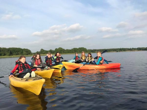 Duke of Edinburgh - Canoe Session