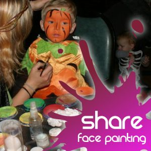 Share Discovery Village face Painting