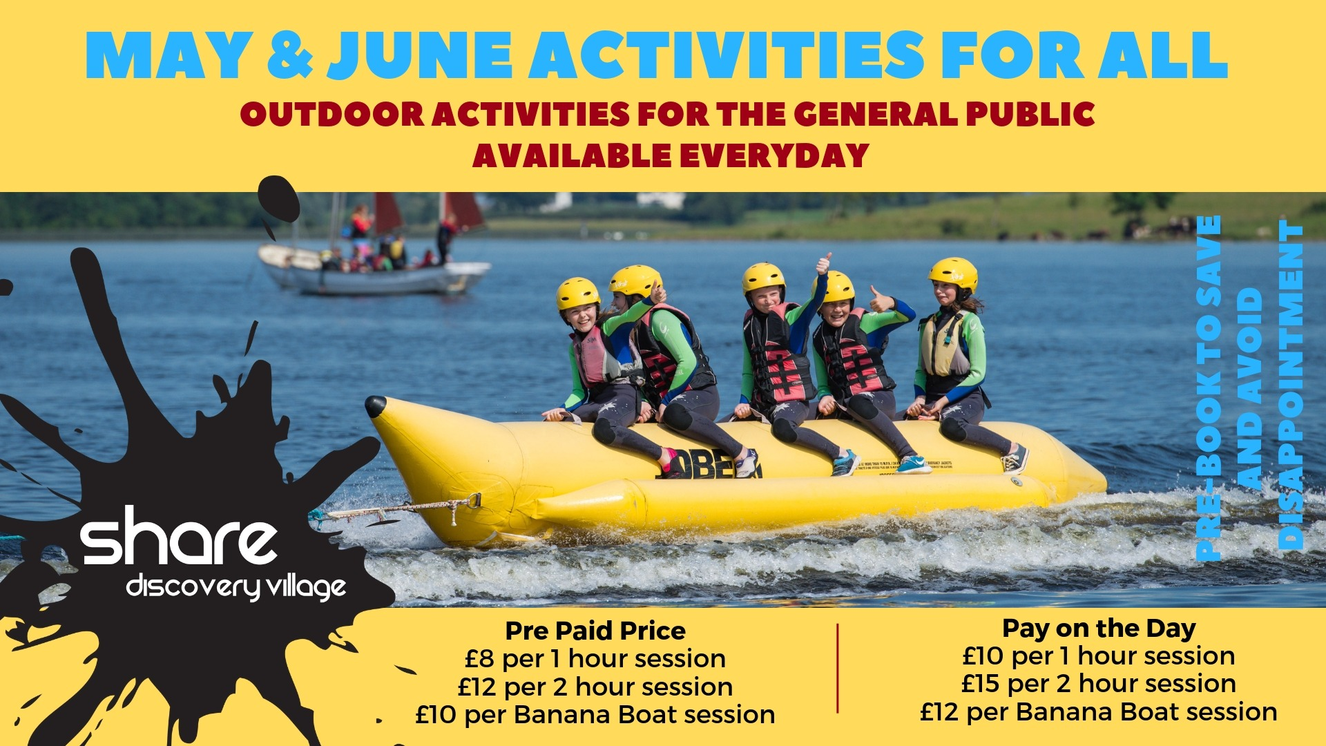May and June Activities for All!
