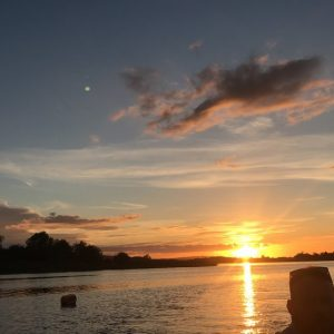 Summer Solstice Sunset on upper Lough Erne